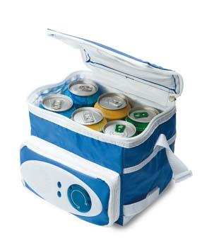 Сумка-холодильник с радио.  Метод нанесения.  ПЕЧАТНЫЕ КАТАЛОГИ.